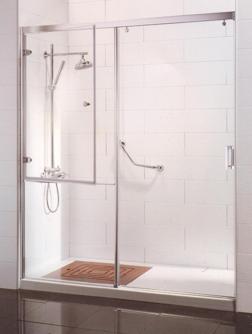 Baño Discapacitados Accesorios:Mamparas de baño para discapacitados